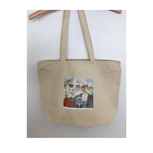 Photo of Devon Rex Tote Bag